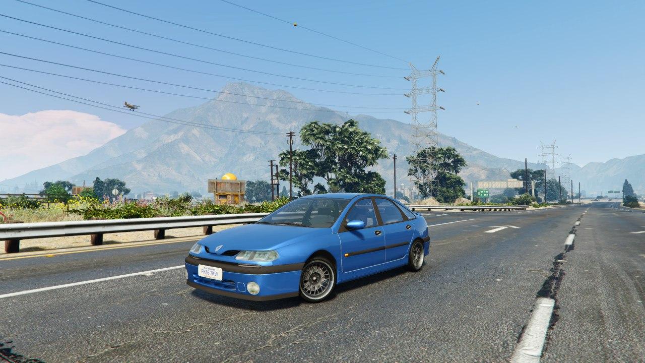 Renault Laguna v0.1 для GTA V - Скриншот 1