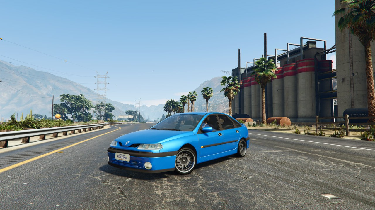 Renault Laguna v0.1 для GTA V - Скриншот 2