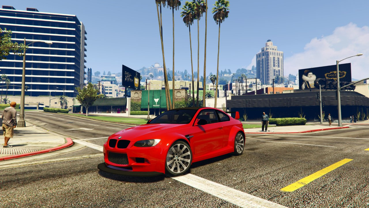 BMW M3 (E92) WideBody v0.1 для GTA V - Скриншот 1