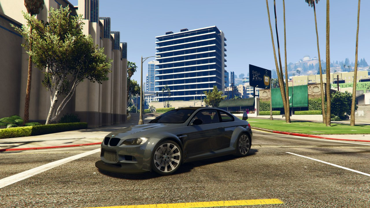 BMW M3 (E92) WideBody v0.1 для GTA V - Скриншот 2