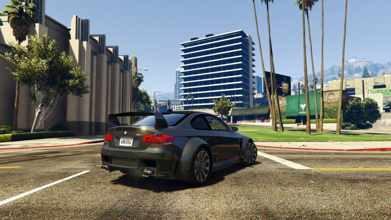 BMW M3 (E92) WideBody v0.1 для GTA V - Скриншот 3