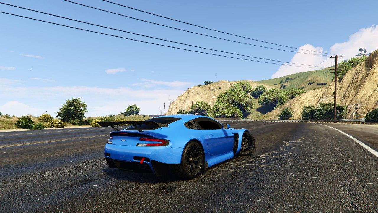 Aston Martin Vantage GT3 v0.1 для GTA V - Скриншот 2