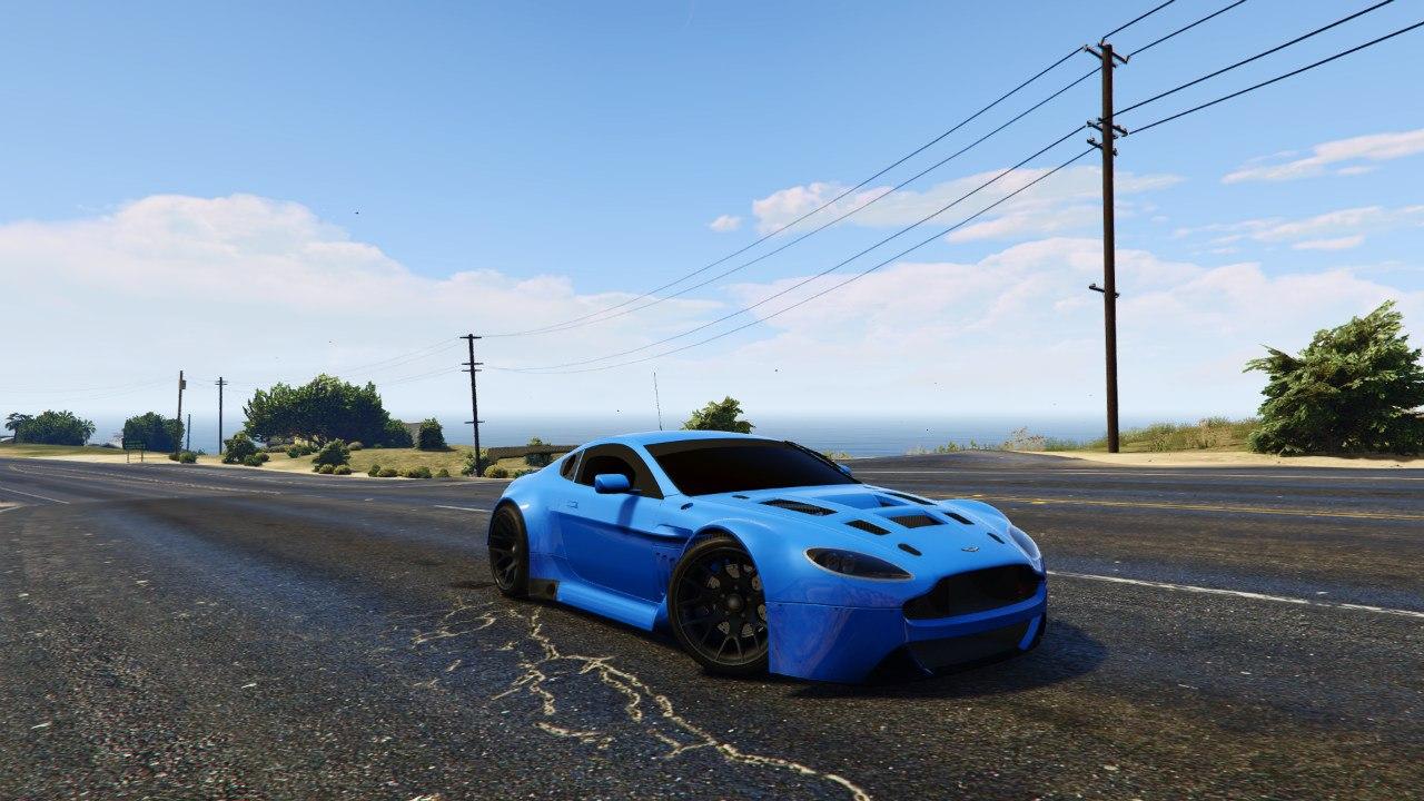 Aston Martin Vantage GT3 v0.1 для GTA V - Скриншот 3