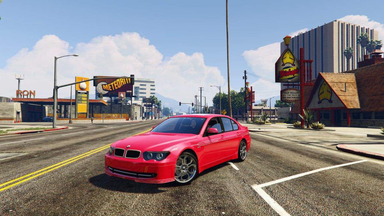BMW Alpina B7 v0.1 для GTA V - Скриншот 2