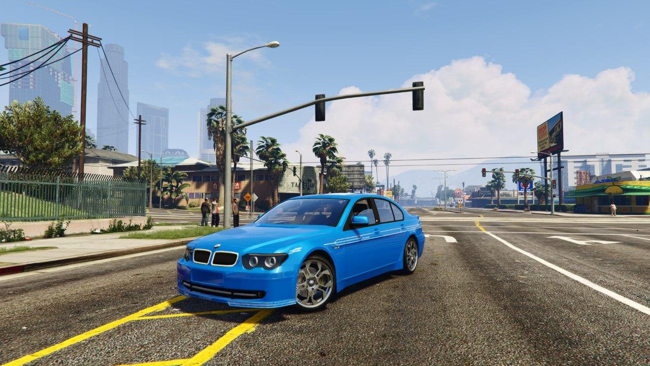 BMW Alpina B7 v0.1 для GTA V - Скриншот 1