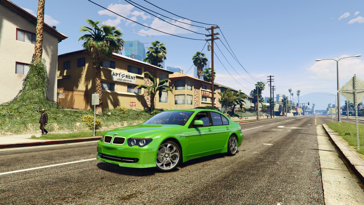 BMW Alpina B7 v0.1 для GTA V - Скриншот 3