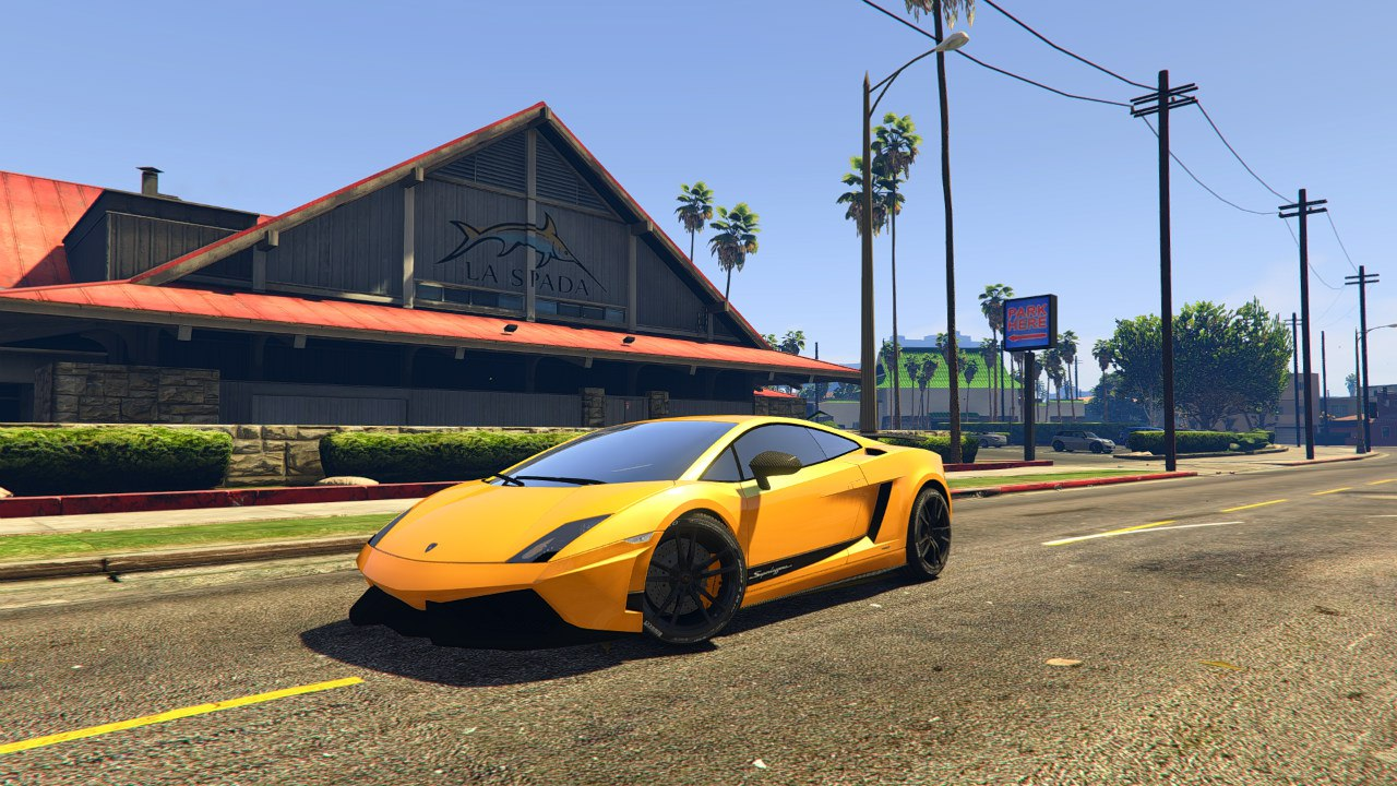Lamborghini Gallardo LP 570-4'11 Superleggera v0.1 для GTA V - Скриншот 1