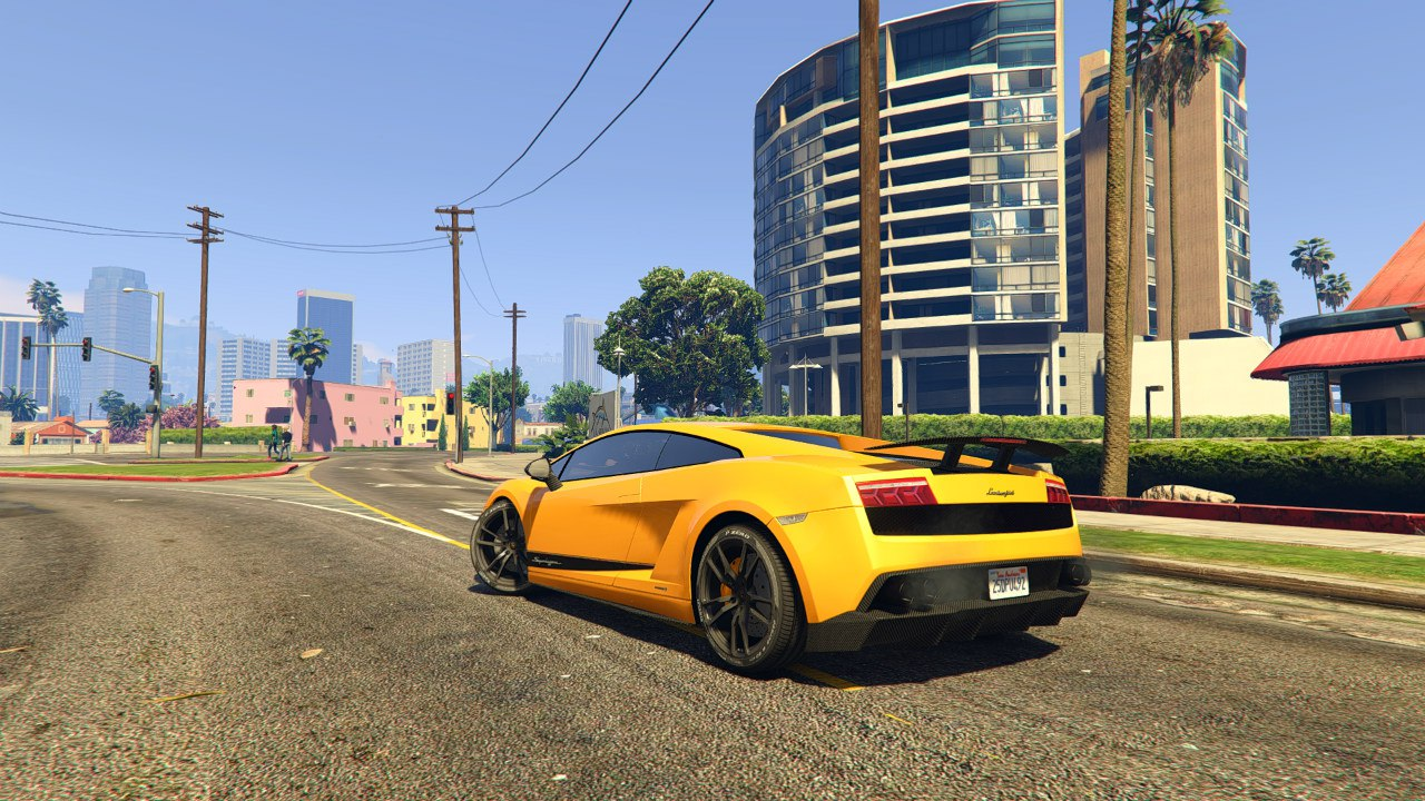 Lamborghini Gallardo LP 570-4'11 Superleggera v0.1 для GTA V - Скриншот 2