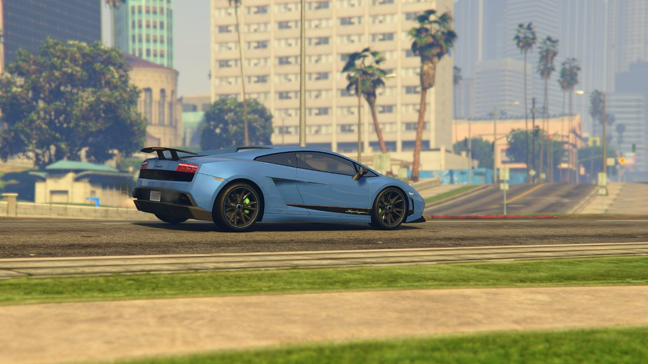 Lamborghini Gallardo LP 570-4'11 Superleggera v0.1 для GTA V - Скриншот 3