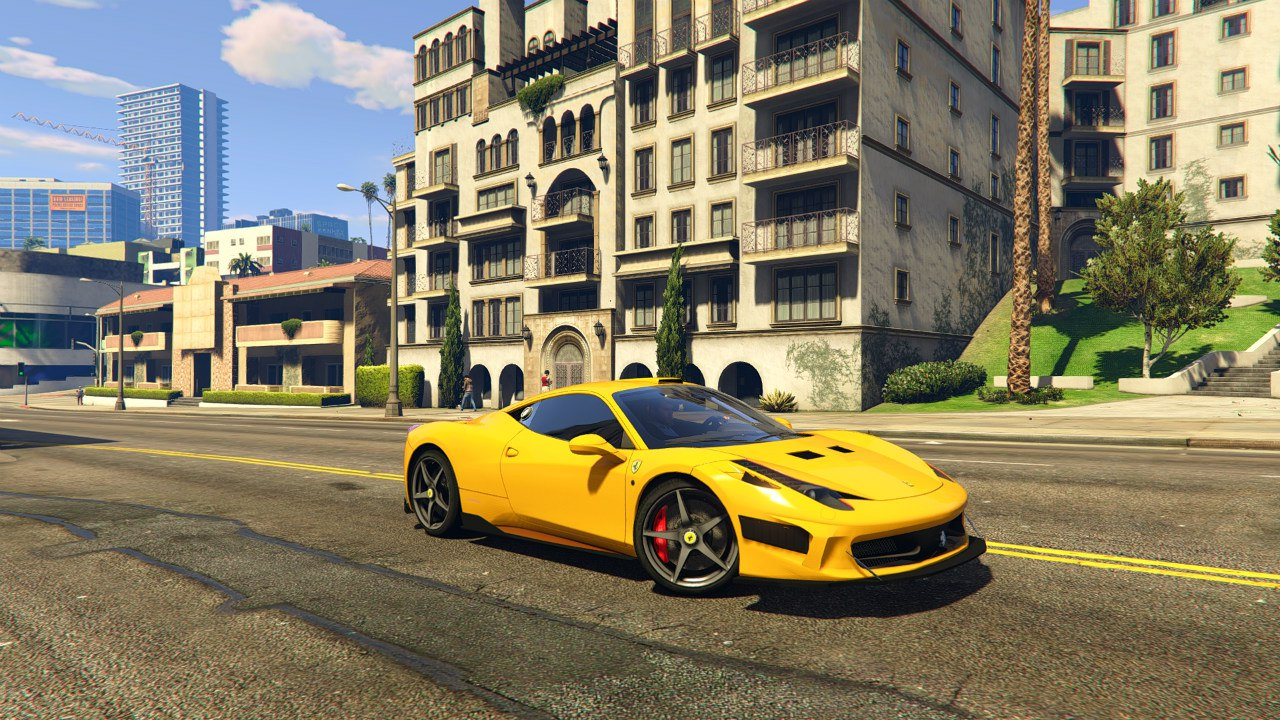2009 Ferrari 458 Italia v1.9.5 для GTA V - Скриншот 1