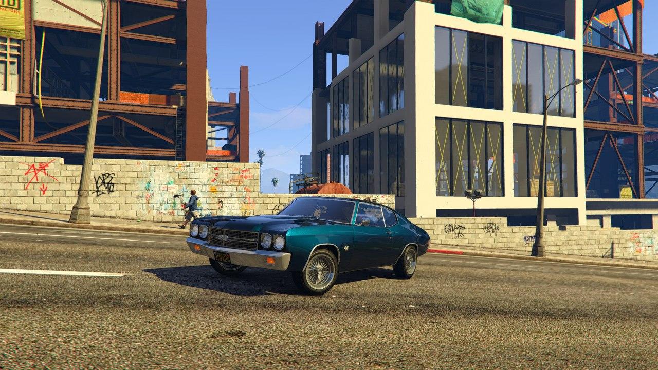 1970 Chevrolet Chevelle SS v1.0 для GTA V - Скриншот 2