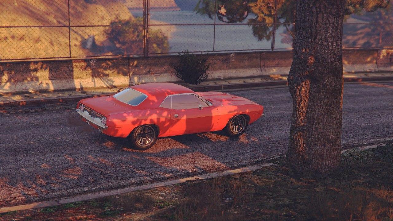 Plymouth Barracuda 1970 v0.1 для GTA V - Скриншот 3