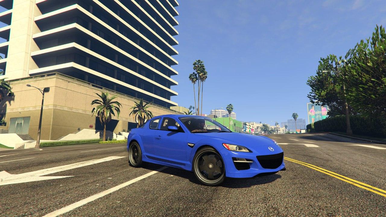 2011 Mazda RX-8 R3 v0.1 для GTA V - Скриншот 2
