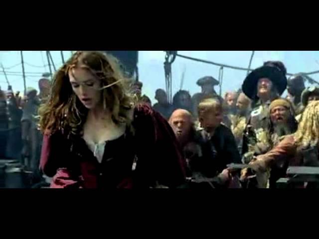Трейлер Пираты Карибского моря: Проклятие Чёрной Жемчужины