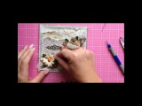 Earth Tone Card - Wild Orchid Crafts - Tutorial by Lady E