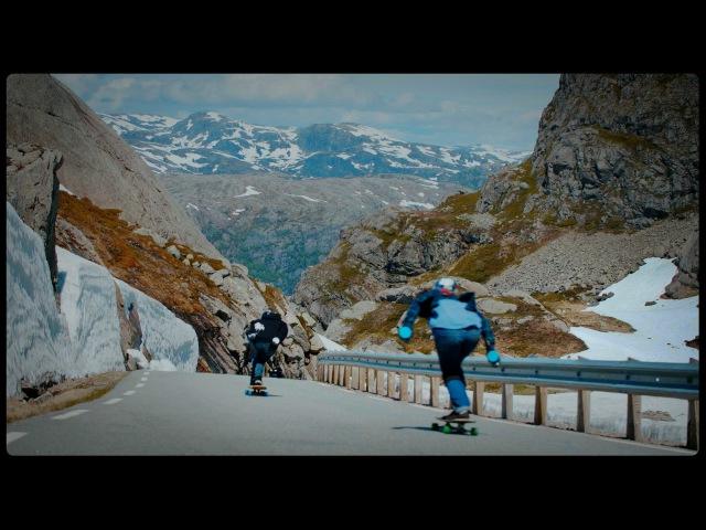 Fearlessly Longboarding Down Norway's Steep Mountain Roads | Short Film Showcase