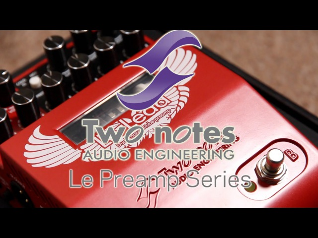 TwoNotes Le Lead Preamp - Dual Channel Tube Preamp Pedal