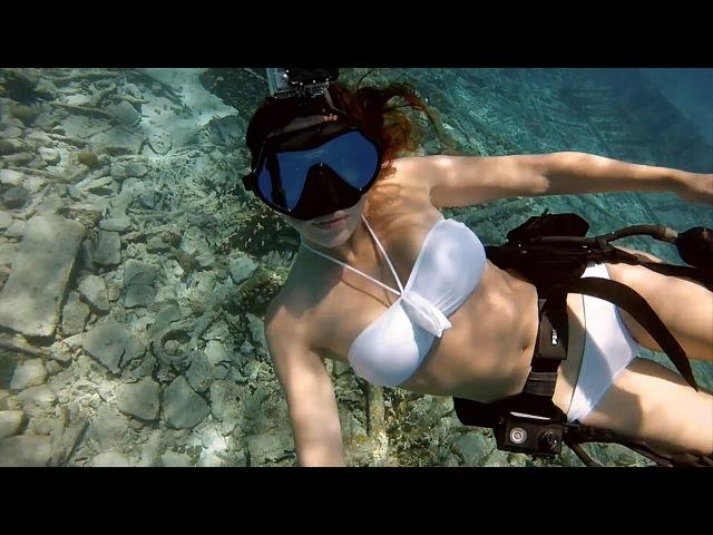 Дайвинг с акулами (возможности камеры GoPro HERO3)