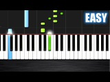 One Direction - Drag Me Down - EASY Piano Tutorial by PlutaX - Synthesia