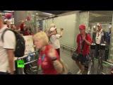 В Москве встретили победителей и участников специальной Олимпиады