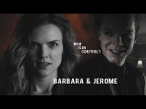 Jerome &amp Barbara Who is in control