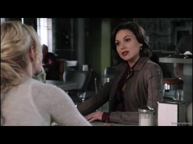 4 version of Regina Mills with 4 different voices different ...