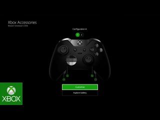 Xbox Elite Wireless Controller – Customization with the Xbox Accessories App