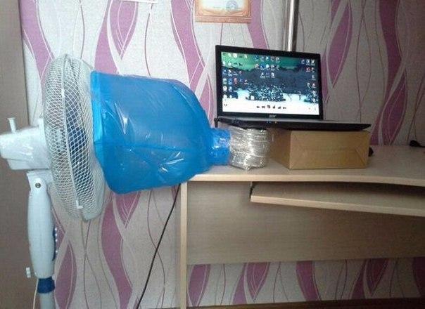 Как самому сделать охлаждение ноутбука из