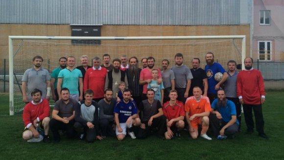 В Александрии священники сразились в футбол