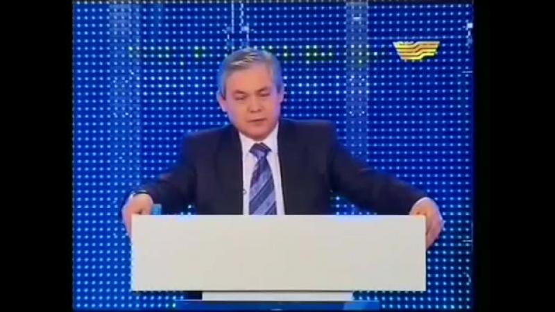 Голосуй за ОСДП! Кандидат в депутаты Кайсаров, вступил с програмной речью ОСДП.