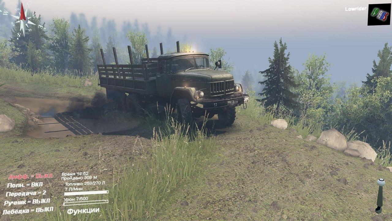 Карта 19rus_Кубайка для 03.03.16 для Spintires - Скриншот 2
