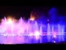 Шоу танцующих фонтанов в Протарасе 2. Кипр 2015 год