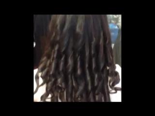 Завивка волос с помощью автоматической конусной плойки Smooth&ConicCurl
