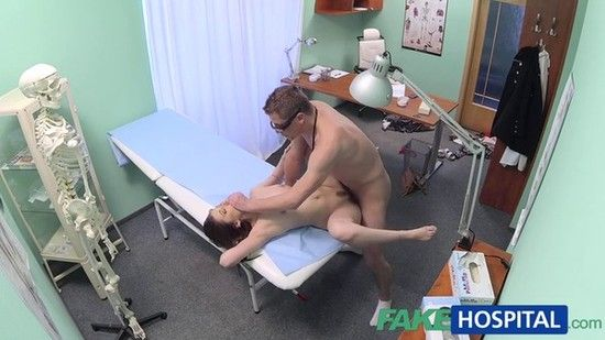 FakeHospital E124 Online Patient Returns For A Second Portion Of Doctors Cock
