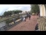 Съёмки клипа Тучи в Питере. Михайловский сад / Мойка ActionCamera 3