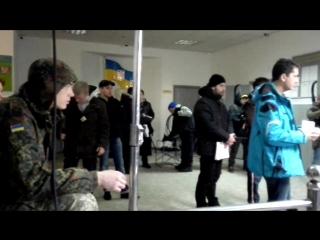 Олексій Горбунов на знімальному майданчику