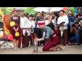 На съёмках лакорна Танцовщица с мечами / Mae Ai Sae Eun (Таиланд, будущий лакорн)
