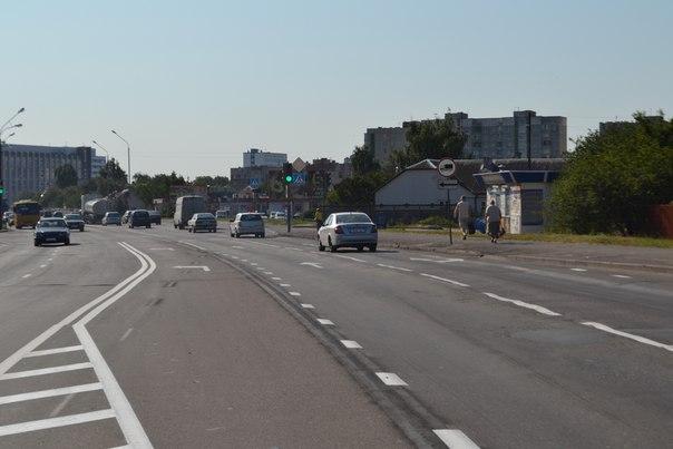 На перекрестке Пионерской и Киевской - дополнительные полосы для поворота налево