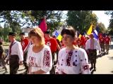 Прапор України пронесли Полтавою під оркестр