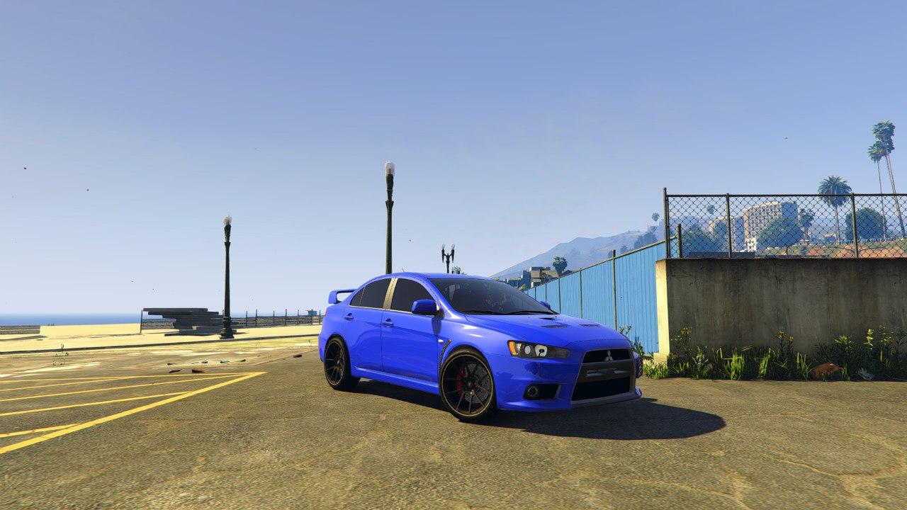 Mitsubishi Evo X v0.1 для GTA V - Скриншот 3