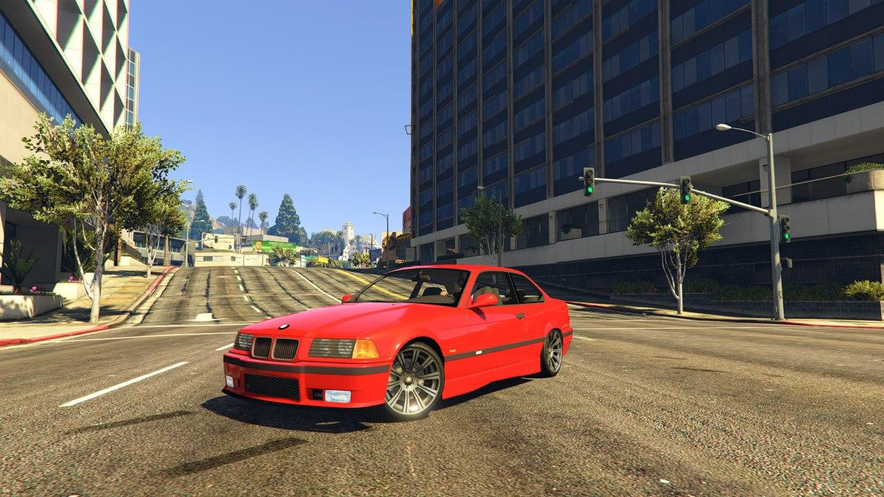 BMW E36 v1.0 для GTA V - Скриншот 1