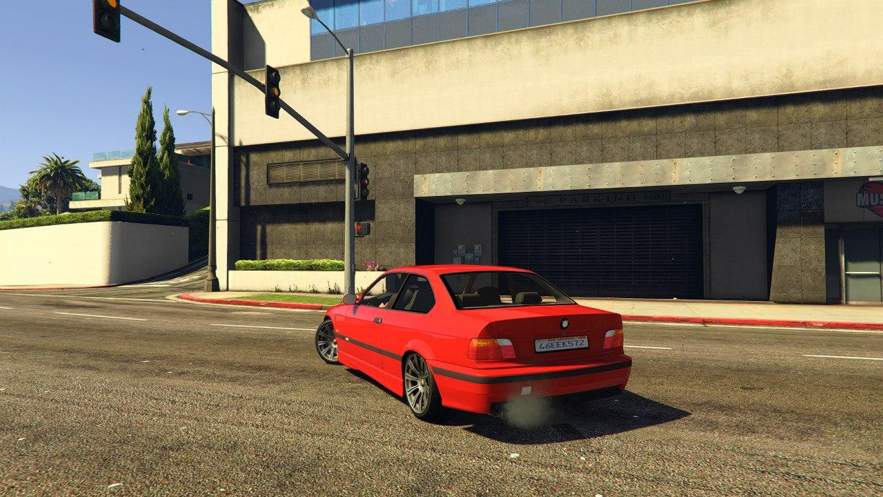 BMW E36 v1.0 для GTA V - Скриншот 2