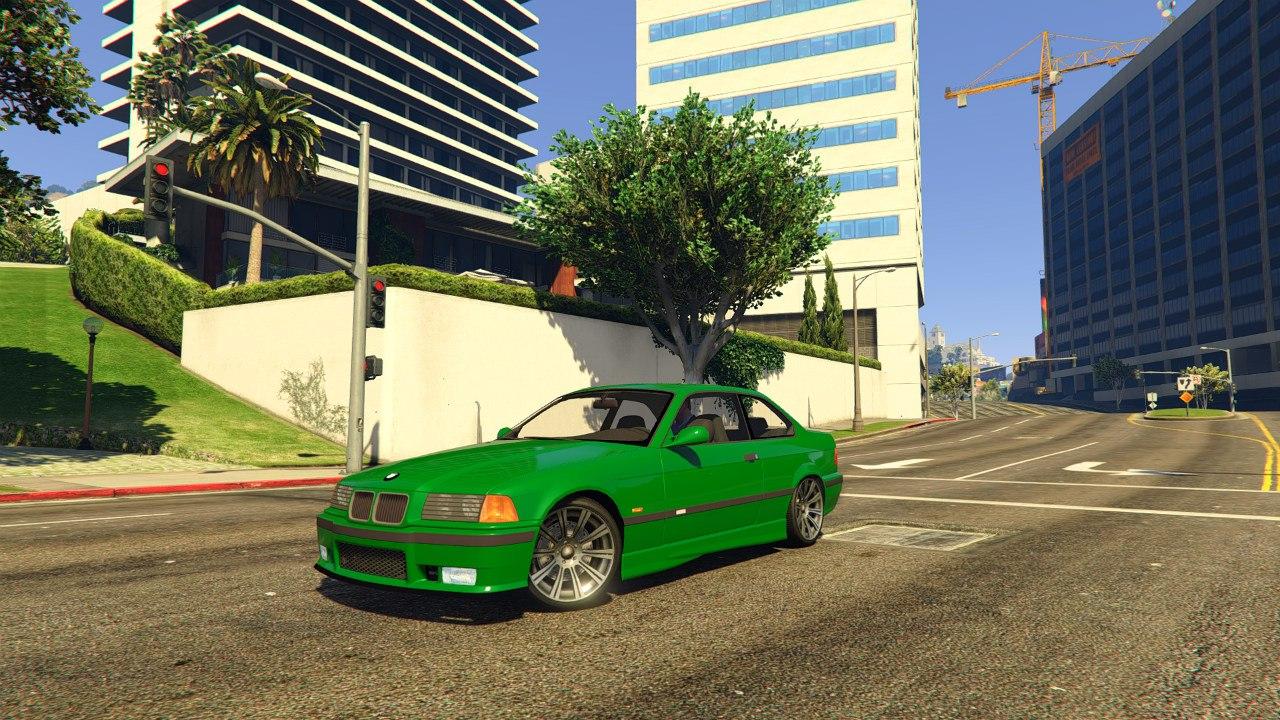 BMW E36 v1.0 для GTA V - Скриншот 3