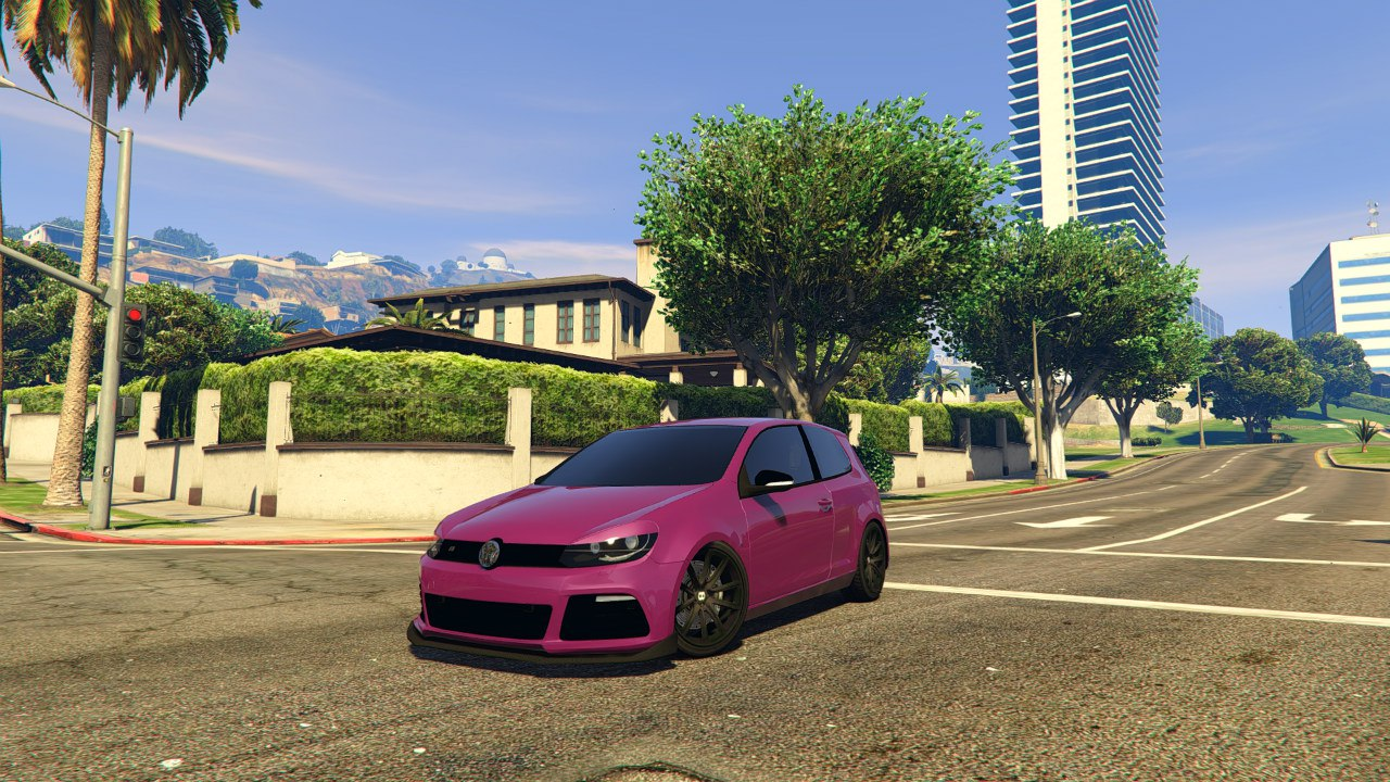 Volkswagen Golf R32 EA Edition для GTA V - Скриншот 1