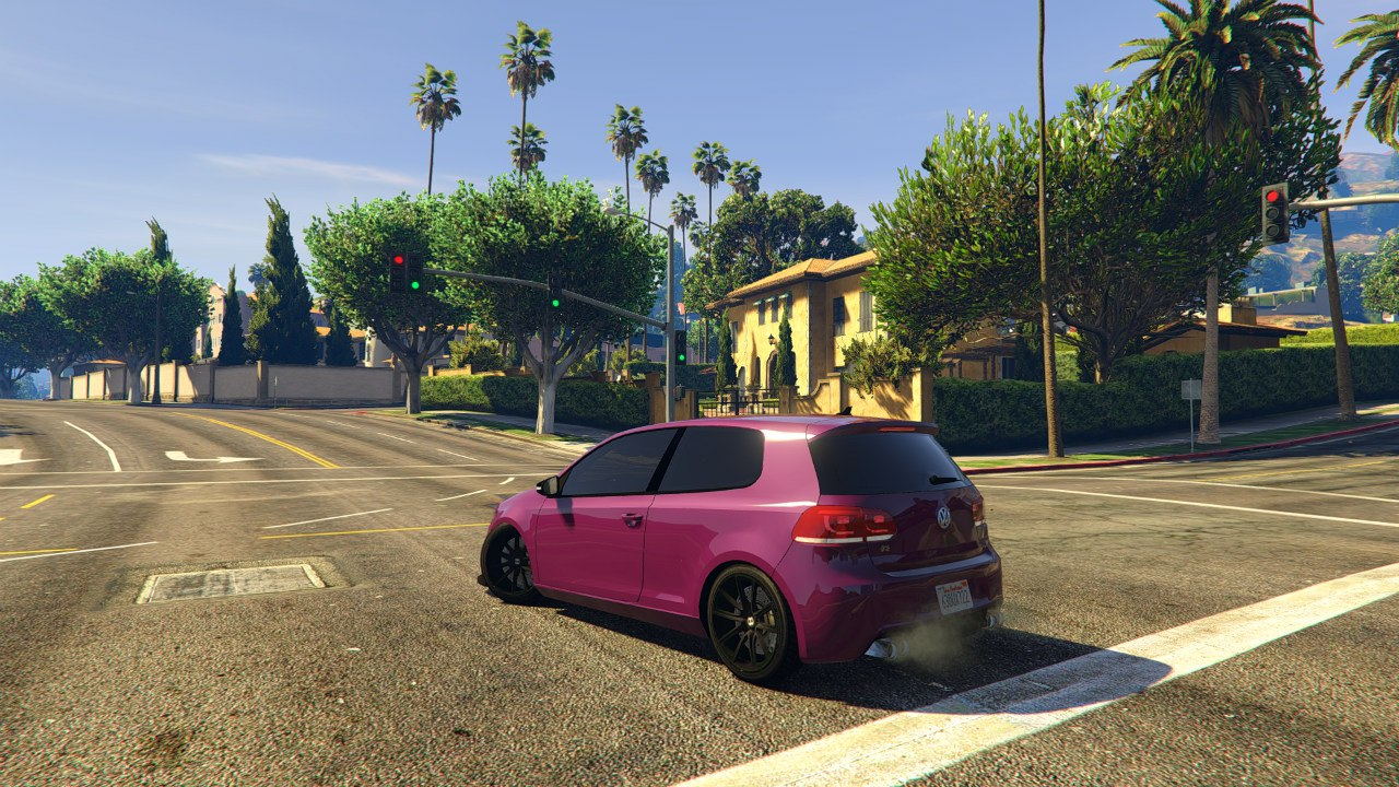 Volkswagen Golf R32 EA Edition для GTA V - Скриншот 2