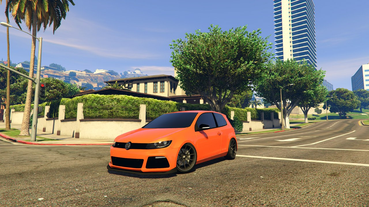 Volkswagen Golf R32 EA Edition для GTA V - Скриншот 3