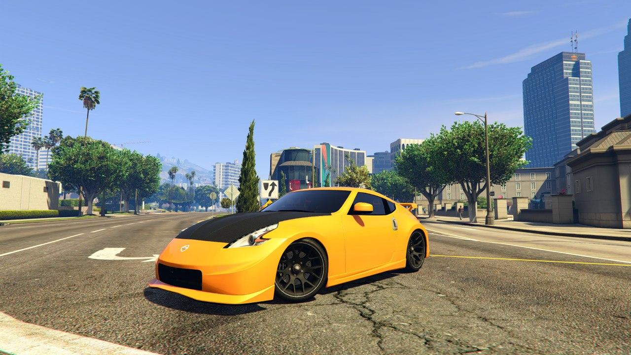 Nissan 370z для GTA V - Скриншот 2