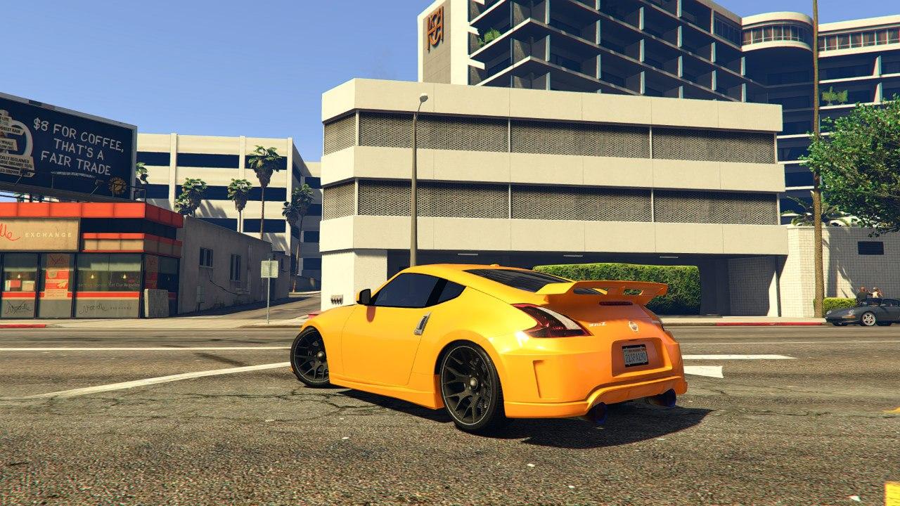 Nissan 370z для GTA V - Скриншот 3