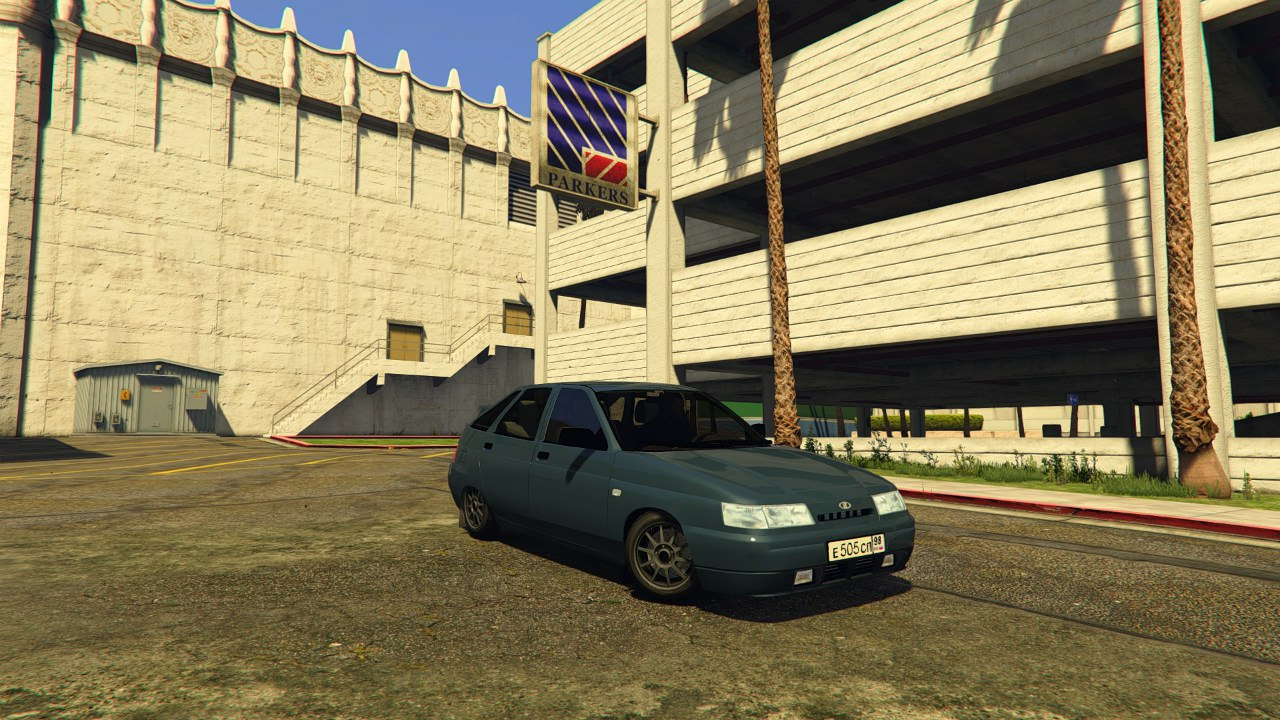 VAZ-2112 (Lada 112) v1.0 для GTA V - Скриншот 3
