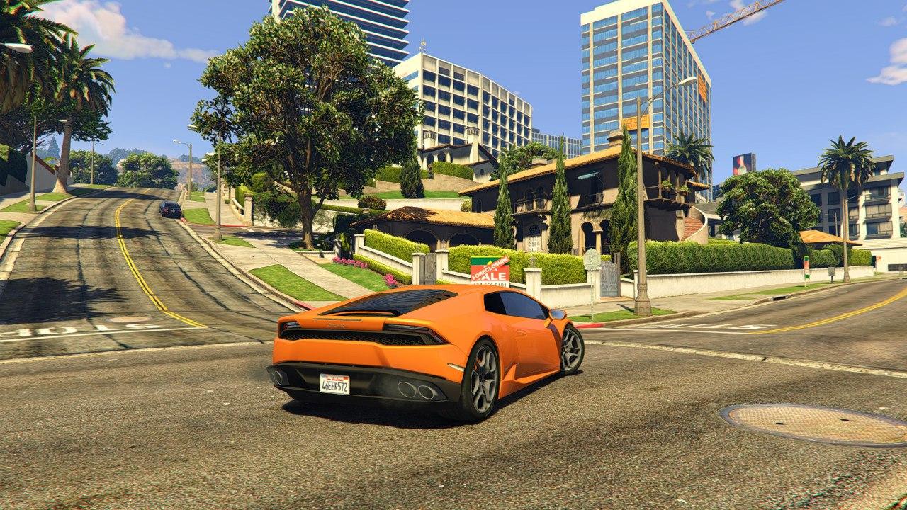 Lamborghini Huracan 2015 v1.0 для GTA V - Скриншот 2